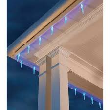 ecosmart 200 led icicle lights extra bulbs led icicle lights christmas lights the home depot