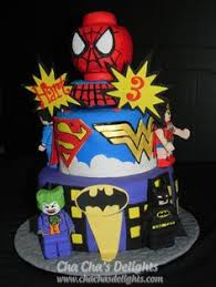 birthday cakes lego superheroes cake kid birthday ideas