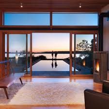 patio sliding door roller shade bedroom contemporary with vaulted