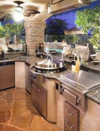 Outside Kitchen Design Ideas Island Outdoor Patio Kitchen Ideas Optimizing An Outdoor Kitchen