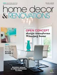 Home Decor And Renovations Manitoba Home Decor U0026 Renovations Dec 2014 Jan 2015 By