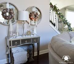 White Christmas Decorations 2015 by 2015 Christmas Home Tour Kelley Nan