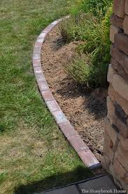 Garden Edge Ideas Best 25 Brick Garden Edging Ideas On Pinterest Garden Edge Garden