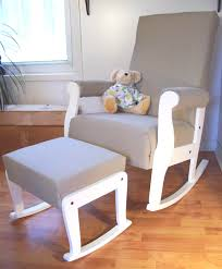 White Rocking Chair For Nursery Best Glider Chairs For Nursery With Chair In Regard To