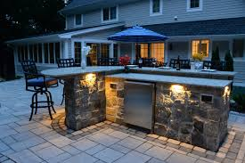 Outdoor Kitchen Lighting Outdoor Kitchens Bbq Fire Pits U0026 Fireplaces Bergen County Nj