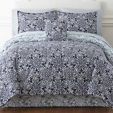 Jcpenney Bed Set Home Expressions Montage Reversible Complete Bedding Set With
