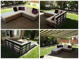 pallets garden couch canapé de jardin en palettes euro u2022 1001