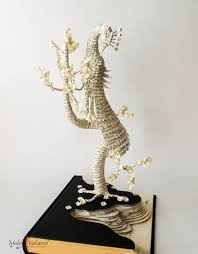 Upcycle Old Books - i upcycle old books by turning them into magical sculptures book
