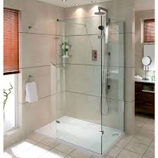 aqata spectra walk in shower enclosure with hinged panel sp446c