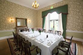 private dining dining balbirnie house hotel
