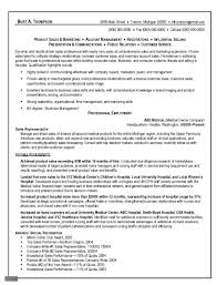 Good Sales Resume Examples by Good Sales Resume Free Resume Example And Writing Download