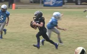 How To Start A Youth Flag Football League Josh Manfred 10 Year Old Quarterback 2012 Houston Texas From