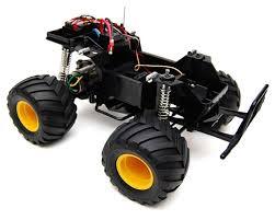 monster jam monster trucks toys lunch box 2wd electric monster truck kit by tamiya tam58347