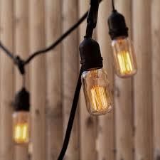 heavy duty outdoor string lights williamsburg bulbs with heavy duty 10 socket vintage light strand