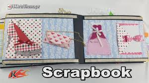 tutorial scrapbook card mother s day scrapbook tutorial 14 card scrapbook making jk arts