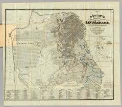 Map Of San Francisco by Official Guide Map Of City And County Of San Francisco Bancroft
