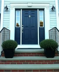 blue house front door color painted colors image navy ideas with