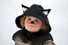 Black Cat Halloween Costume Kids Kids Cat Cape Black Cat Halloween Costume Childrens Kitty