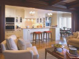living room cool open plan kitchen living room small space