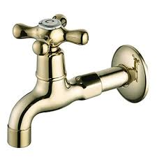 Brass Bathroom Faucet by Ti Pvd Finish Wall Mount Antique Style Brass Gold Bathroom Faucets