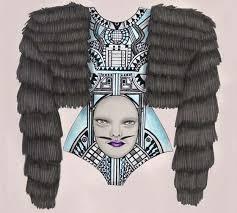 freaky fashion illustrations tara dougans