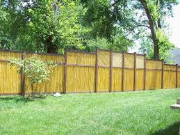 fence bamboo fence home depot home depot fence gate reed