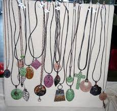 colored necklace display images Diy standing necklace display for craft shows cotton ridge create jpg