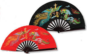 wholesale fans kung fu fighting fans bamboo frame bill wholesale