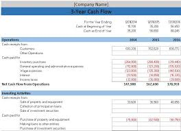 Flow Statement Template Excel Free Accounting Templates In Excel