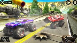 monster truck 3d racing games chained monster truck rivals ramp racing stunts new game by