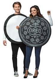 oreo cookie costume for couples