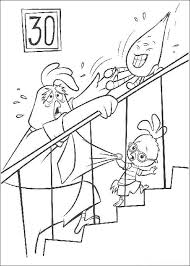 chicken little colouring sheets