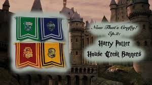 ww harry potter house crest banners now that u0027s crafty ep 2