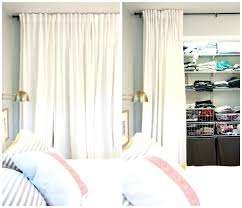 Curtains As Closet Doors Curtain Closet Door Closet Curtain Ideas Best Closet Door Curtains