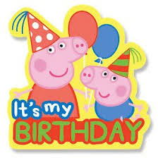 peppa pig birthday peppa pig birthday badge co uk kitchen home