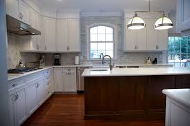white kitchen cherry island little silver new jersey by design gorgeous white kitchen plywood cabinets