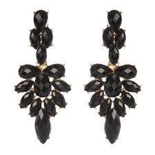 black dangle earrings colette dangle earrings shop amrita singh jewelry