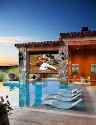 backyard projector ideas home outdoor decoration