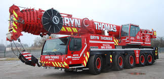 bryn thomas cranes leading uk crane hire company