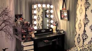 cheap makeup vanity mirror with lights bedroom gorgeous bedroom design for with black white storage