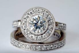how to shop for an engagement ring wedding rings buying an engagement ring 101 trying on engagement