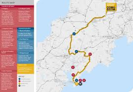 Sun Country Route Map by Driving Routes With Breathtaking Scenery In Cornwall Cornwall