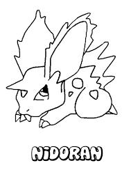 nidoran coloring pages hellokids com