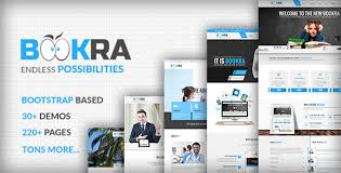 html5 templates for books bookra is a bootstrap based responsive html5 template
