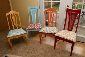reupholster a dining room chair recovering dining room chair cushions zhis me
