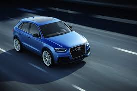 audi q3 dashboard new audi rs q3 concept study with 355hp breaks cover ahead of its