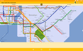 Brooklyn Subway Map by New York City Subway Maps Android Apps On Google Play