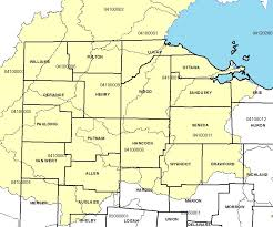 Defiance Ohio Map by Nutrient Management Plan Development Program Agronomic Crops Network