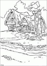 princess snow white house coloring pages disney u0027s princess