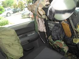 Dodge Dakota Truck Seat Covers - how do you store you weapons in your vehicle survivalist forum